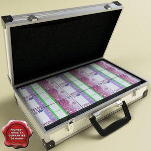 suitcase euro 3d 3ds