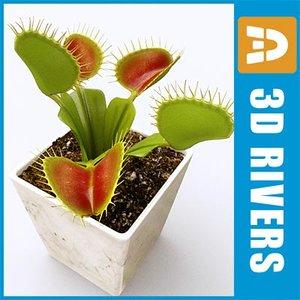 3ds venus flytrap plant