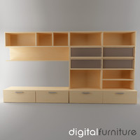TV Furniture Wall System 17