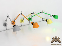 Artemide Tolomeo Wall Lamp Set