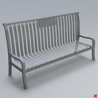 3ds street bench