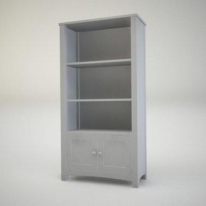 bookstand console cupboard 3d max