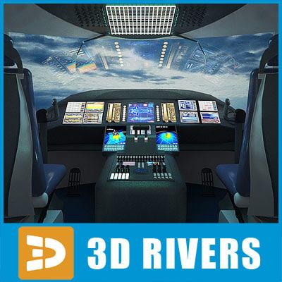 3d dreamliner cockpit