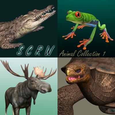 maya animal 1