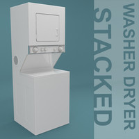 washer dryer stacked combination fbx