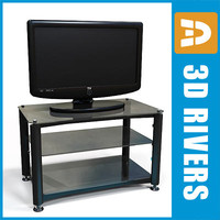 lcd tv table 3ds