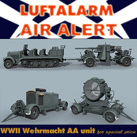 wwii german 3d model