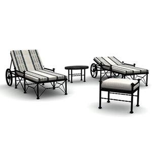 3ds max pool sun lounge
