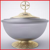 3d model clasic cremation urn