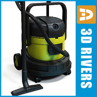 Vacuum cleaner 02 by 3DRivers