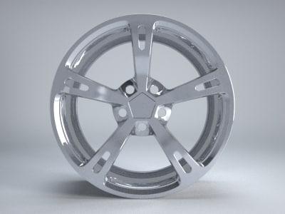obj aftermarket wheel rim