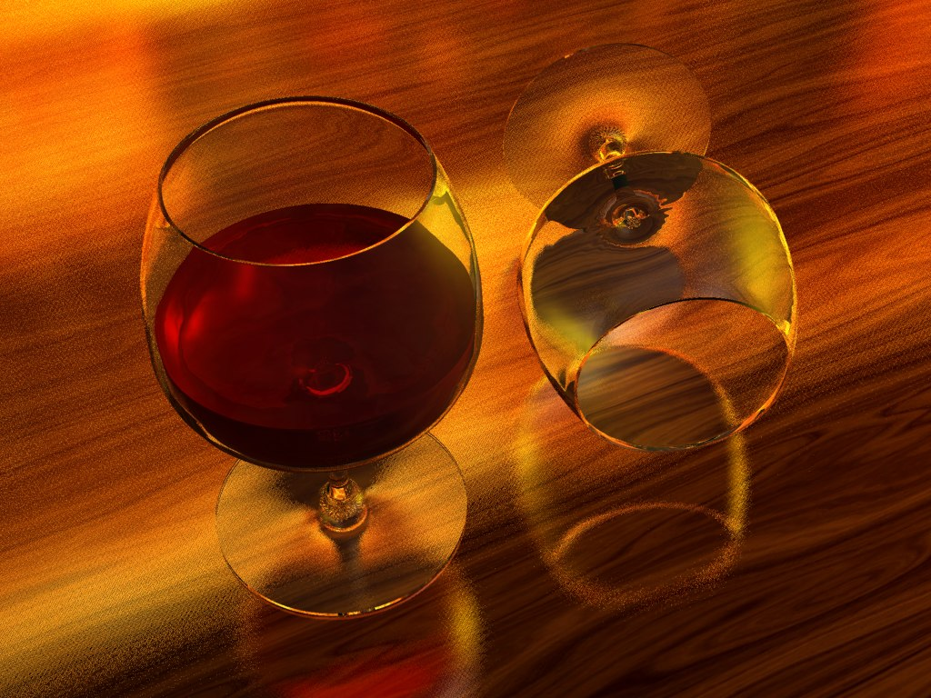 3ds max wine glass