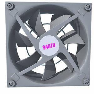 3d computer fan