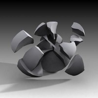 fracture ball 3d max