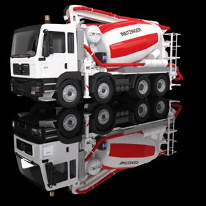 max truck pump mixer waitzinger