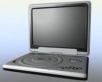 samsung dvd player 3d model