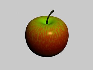 free apple 3d model