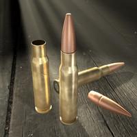 Rifle Cartridge 7,62x51mm