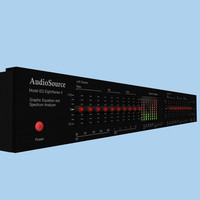 graphic equalizer eq 3d model