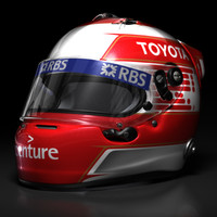 Kazuki Nakajima 2009 F1 Helmet