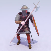 ManAtArms-Feudal_Rigged_3DModel