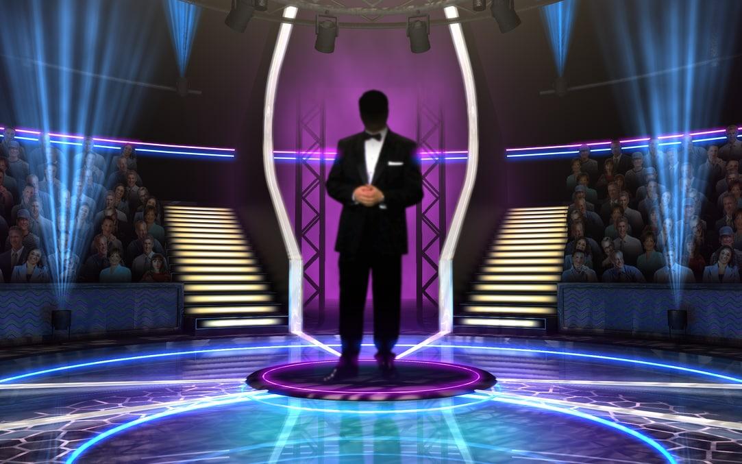 millionaire virtual set 3d c4d