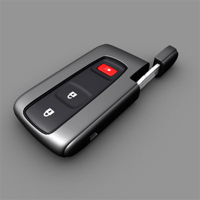 3ds toyota prius smart key