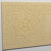 3ds max arabesque decor