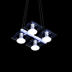 3dsmax pendant light fabbian aster