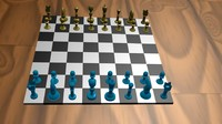 chess set blend