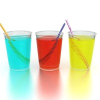 drinking glasses 3d max