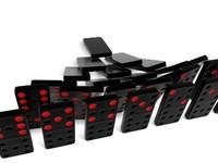 set domino 3d model