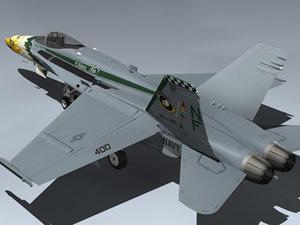 3d f a-18c hornet vfa-195