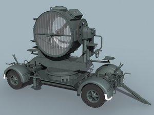 3d model flak-sw 34 german wwii