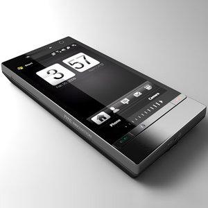 htc 2 communicator 3d model