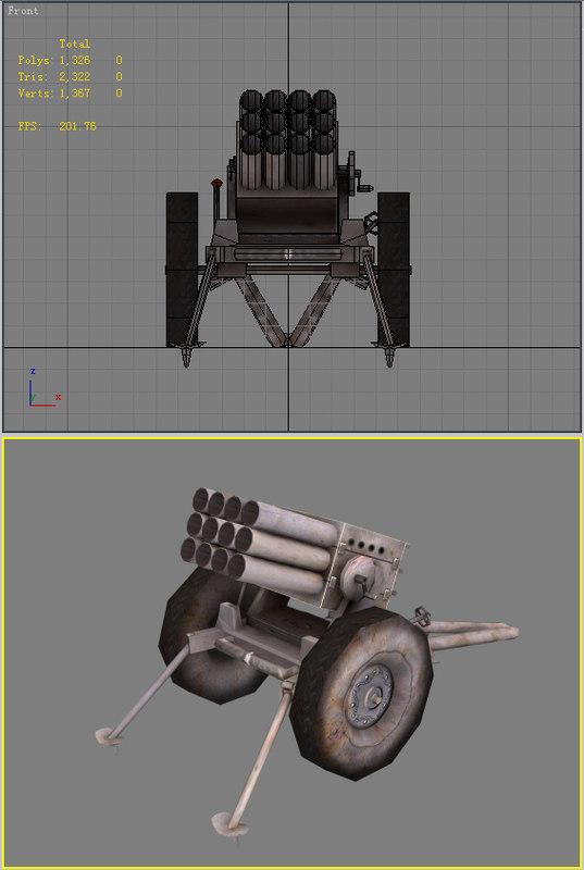 3ds max artillery