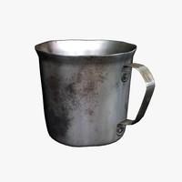 Used Old Mug
