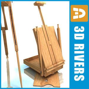 artist case 3d model