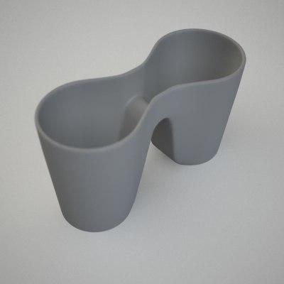 3d pencil box model