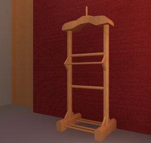 3d hanger model