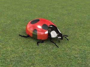 3d max ladybird