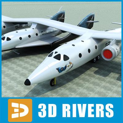 maya white knight aircraft spaceshiptwo
