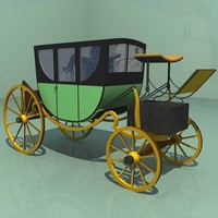3d max carriage