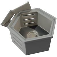 3d model stove tea