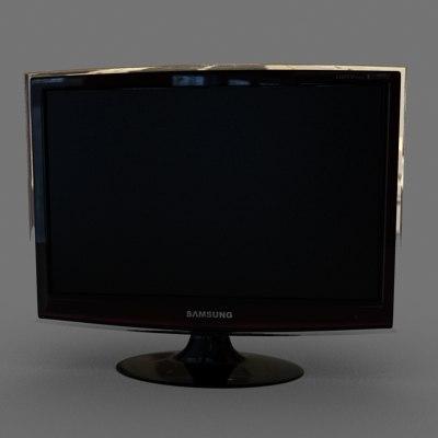 samsung screen tv 3d max