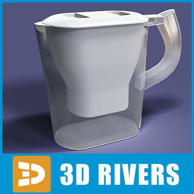 water filter 3d model