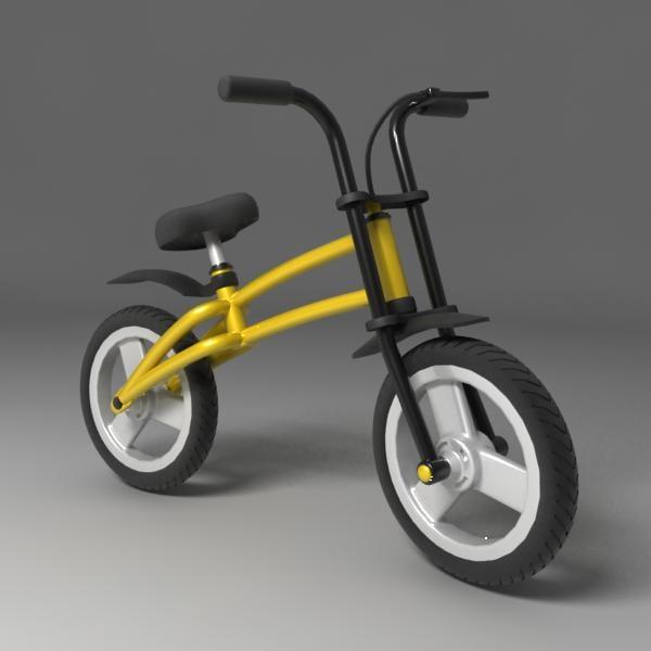 3ds max child bike