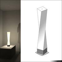 Lamp Table 00695se