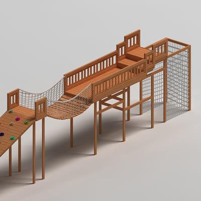 3d playground play