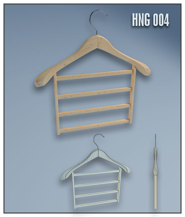 clothes hanger obj